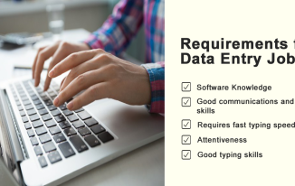 Requirement for data entry jobs